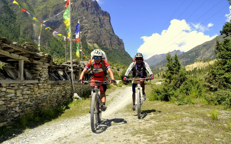 Round Annapurna Biking Tour – 19 Days